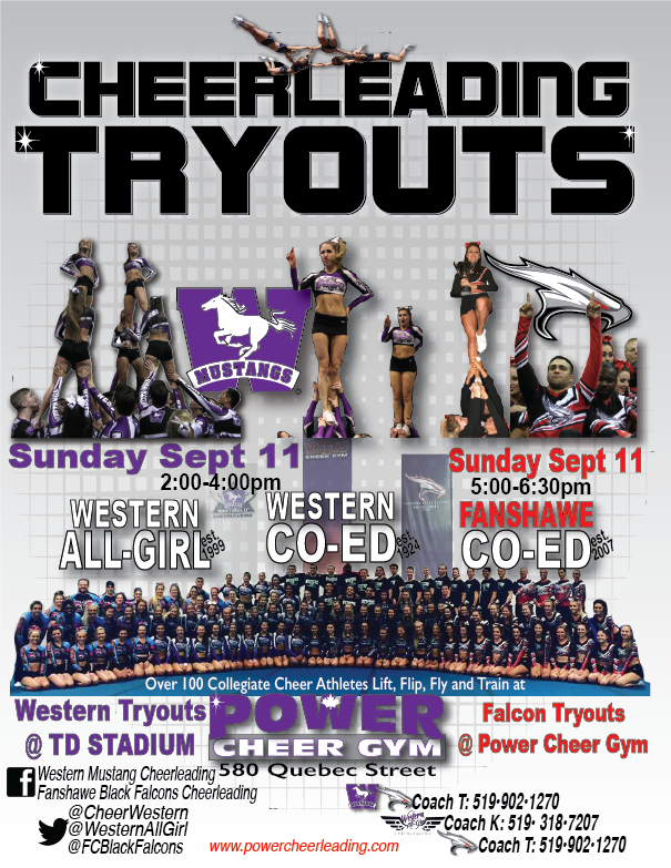 Collegiate Teams Tryout Info Page London Ontario