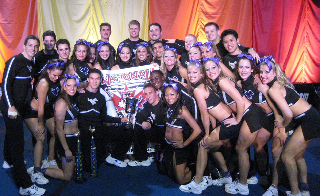 UWO Mustang Cheerleaders